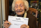 At 98, Estelle Liebow Schultz was born before women had the right to vote for president. In 2016, she's voting for one. Photo / Courtesy of Roberta Benor via Washington Post