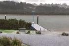 Large hailstones have struck Te Atatu Peninsula in West Auckland