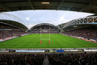The John Smith's Stadium, Huddersfield during the Kiwis-England clash. Photosport