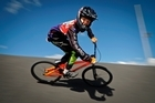 BMX rider Karepa Heke Kaiawha, 12 won, NZ and North Island titles for second consecutive year. Photo/Andrew Warner.