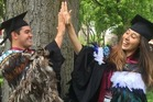 Kingi Snelgar and his long-time partner Kiri Toki both got full scholarships to Harvard School of Law. Photo / Facebook