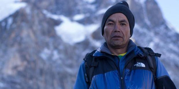 Jose Lazo joined as a cook. His powerful hiking left the others behind.