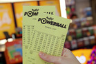 Powerball was at $38 million tonight. Photo / Michael Bradley