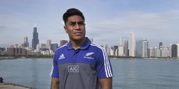 Loading All Blacks centre Malakei Fekitoa. Photo / Brett Phibbs