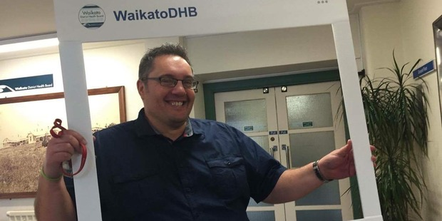 Paul Keesing worked at the Waikato District Health Board. Photo / Supplied