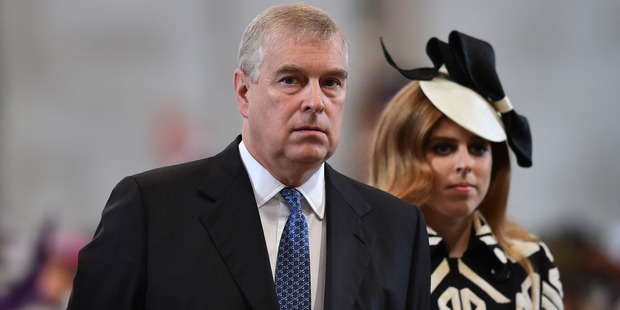 A rift between Princes Charles and Andrew has seen the heir to the thrown attempt to sideline his nieces from royal duties. Photo / AP