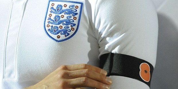 FIFA is set to ban England and Scotland players from wearing poppies. Photo / Kevin Quigley
