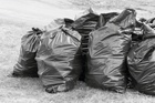 The campaign is aimed at South Auckland, the only area where black bin liners are still used. Photo / 123rf