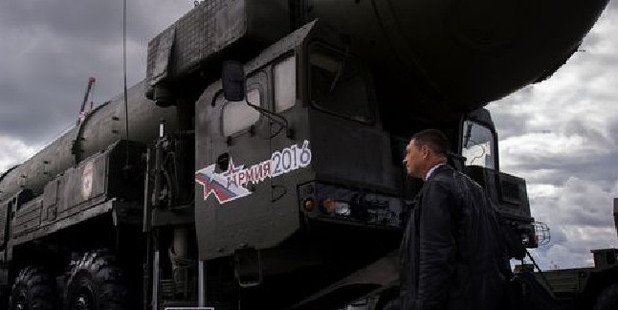 Loading Satan 2 will replace the RS-36M, the 1970s-era weapon referred to by NATO as the Satan missile.