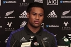 All Blacks winger Julian Savea who will play his 50th test in the test against Ireland at Soldier Field, Chicago.