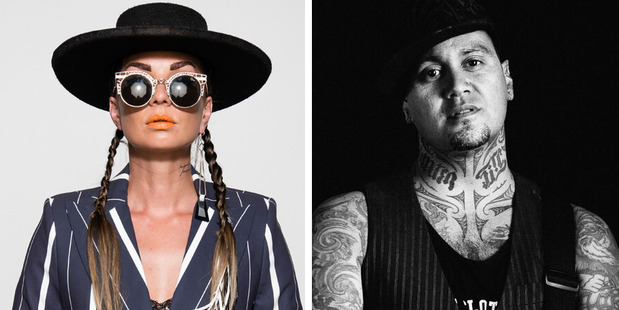 Hollie Smith and Tiki Taane have joined Soundsplash 2017. Photos / Supplied