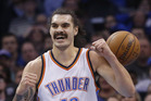 Steven Adams' provides the Oklahoma City Thunder with something that not many other players can. Photo / AP
