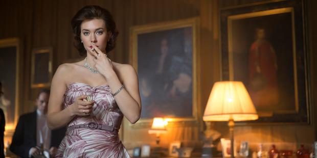 Vanessa Kirby as Princess Margaret in Netflix's The Crown. Photo / Stuart Hendry, Netflix