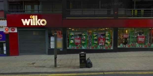 The store in Sheffield where the incident took place. Photo / Google