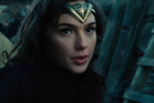 Gal Gadot stars in a scene from the upcoming Wonder Woman movie.
