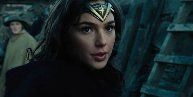 Loading Gal Gadot stars in a scene from the upcoming Wonder Woman movie.