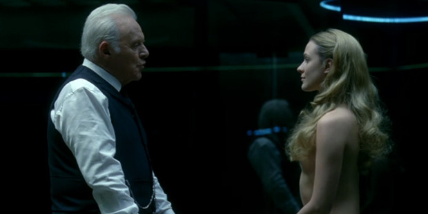 Westworld is no stranger to showing nudity, but this was a whole new level. Photo / HBO