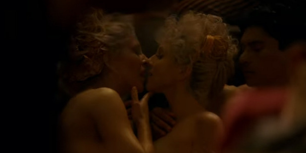 """Loading The scene featured four minutes of unbridled """"pleasure"""". Photo / HBO"""