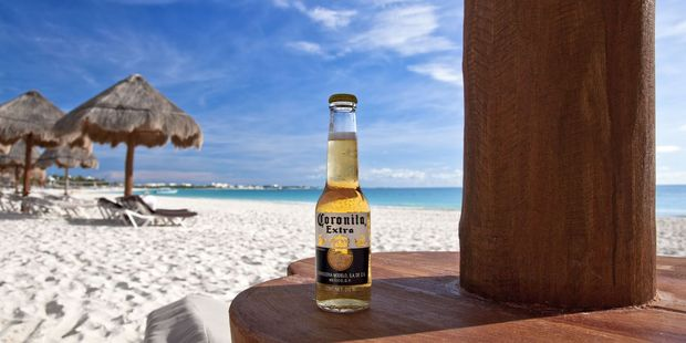 Shares of the company that imports Corona had their biggest rally in more than a month. Photo / 123RF