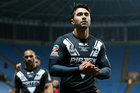 Former rugby league great Andrew Johns has launched a scathing attack on Shaun Johnson and the Kiwis after their draw with Scotland in the Four Nations. Photo / Photosport