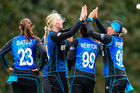 The White Ferns have gone 2-0 up in the five-match ODI series against Pakistan, with a rain-affected win at Lincoln today. Photo / Photosport