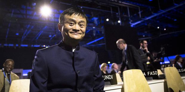 Jack Ma, the billionaire chairman of Alibaba Group.