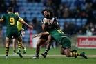 Adam Blair is keen to play against Scotland next weekend. Photo / AP