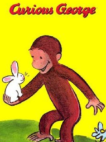 This is the real Curious George. No tail, see?