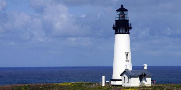 Yaquina Head Lighthouse on the Oregon coast. Photo / 123RF