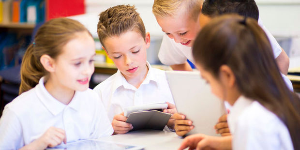 While there are many positives to digital learning, there are some downsides too. Photo / 123RF