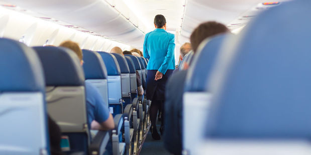 A passenger was arrested after assaulting a flight attendant during a flight from Mexico to Germany. Photo / 123rf
