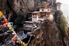The Tiger's Nest monastery.
