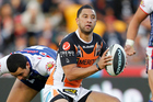 Broncos coach Wayne Bennett says he wants the old Benji Marshall - the one who throws flick passes and runs with flair. Photo / Photosport