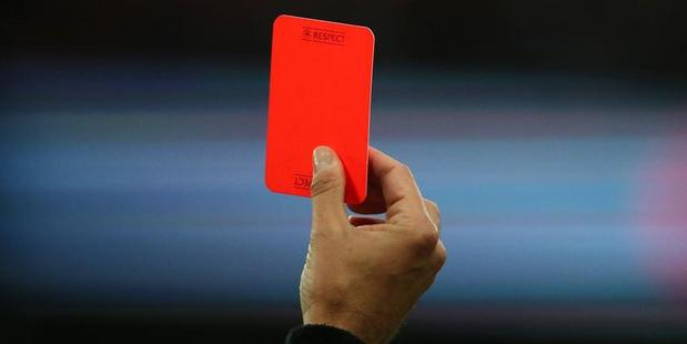 A referee in Mexico has died after a player he red-carded came back and head-butted him to the ground. Photo / Getty