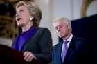 Hillary and Bill Clinton built a political partnership that carried them through a decades-long cycle of loss and recovery and mostly success, until it all came crashing down this week. Picture / AP