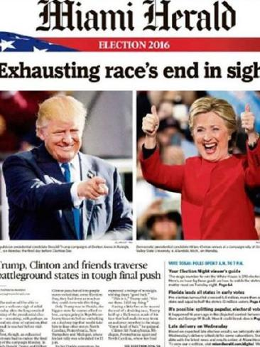 The Miami Herald also mentioned the campaign's length. Photo / Supplied