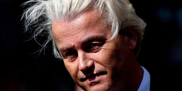 """Dutch politician Geert Wilders says Donald Trump """"reclaimed democracy for the American people"""". Photo / AP"""
