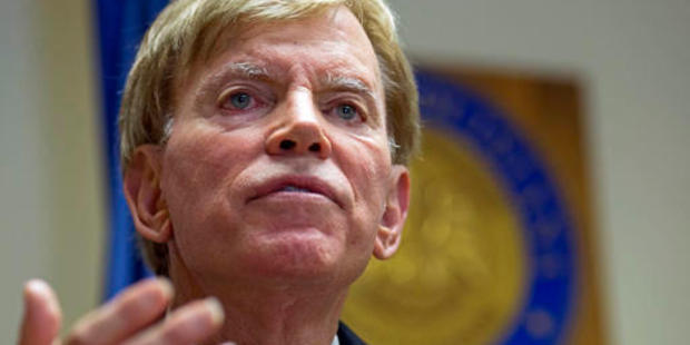 Loading Former Ku Klux Klan leader David Duke failed to win a senate seat in Louisiana but took credit for Donald Trump's victory. Photo / AP