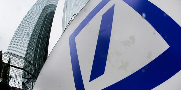 Deutsche Bank's Frankfurt headquarters. Photo / AP