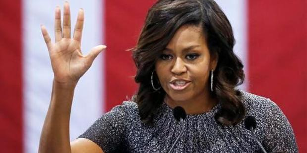 Loading First lady Michelle Obama was probably the only Democrat to come out well from this election campaign. Photo / AP