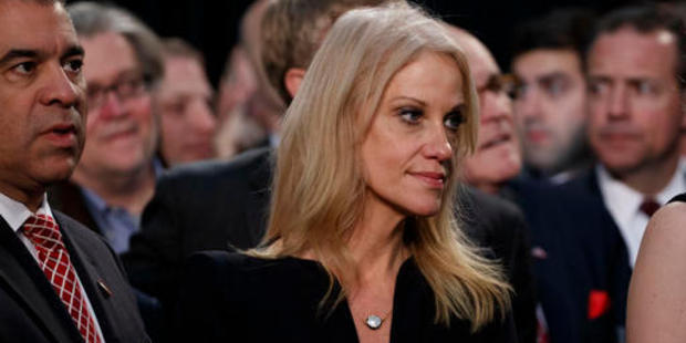 Kellyanne Conway, campaign manager for President-elect Donald Trump. Photo / AP