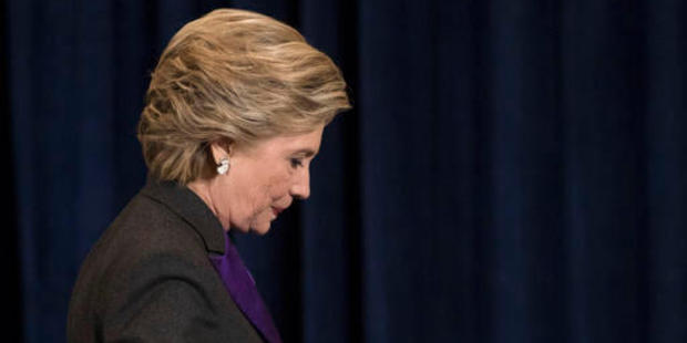 Twenty months ago Hillary Clinton looked like a president-in-waiting. Now she is defeated. Photo / AP