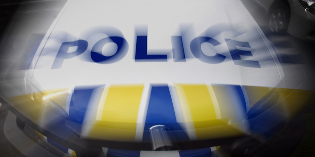 Police are searching for two men who robbed a Mount Maunganui tavern armed with a gun.