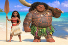 Moana has been praised as a colourful Disney romp in early reviews.