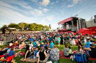 Over 100,000 people attended Christmas in the Park at Auckland Domain last year. Photo / Shaun Jeffers