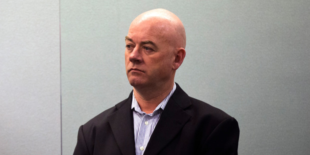 Stephen Borlase appears in the Auckland High Court on charges multi-million dollar bribery charges involving Auckland Transport. Photo / Jason Oxenham