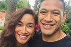 Silver Fern Maria Tutaia announced her engagement to Wallabies star Israel Folau via social media. Photo/instagram