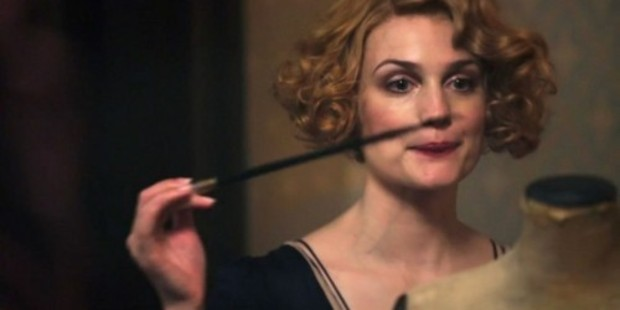 Alison Sudol as Queenie Goldstein in the film, Fantastic Beasts and Where To Find Them.
