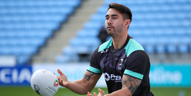 Shaun Johnson is adamant that the Kangaroos don't have a mental advantage over his Kiwis despite losing their third straight against the Aussie this morning. Photo / Photosport