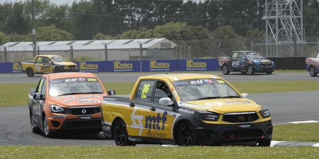 Caine Lobb in action at Pukekohe. Photo / Geoff Ridder